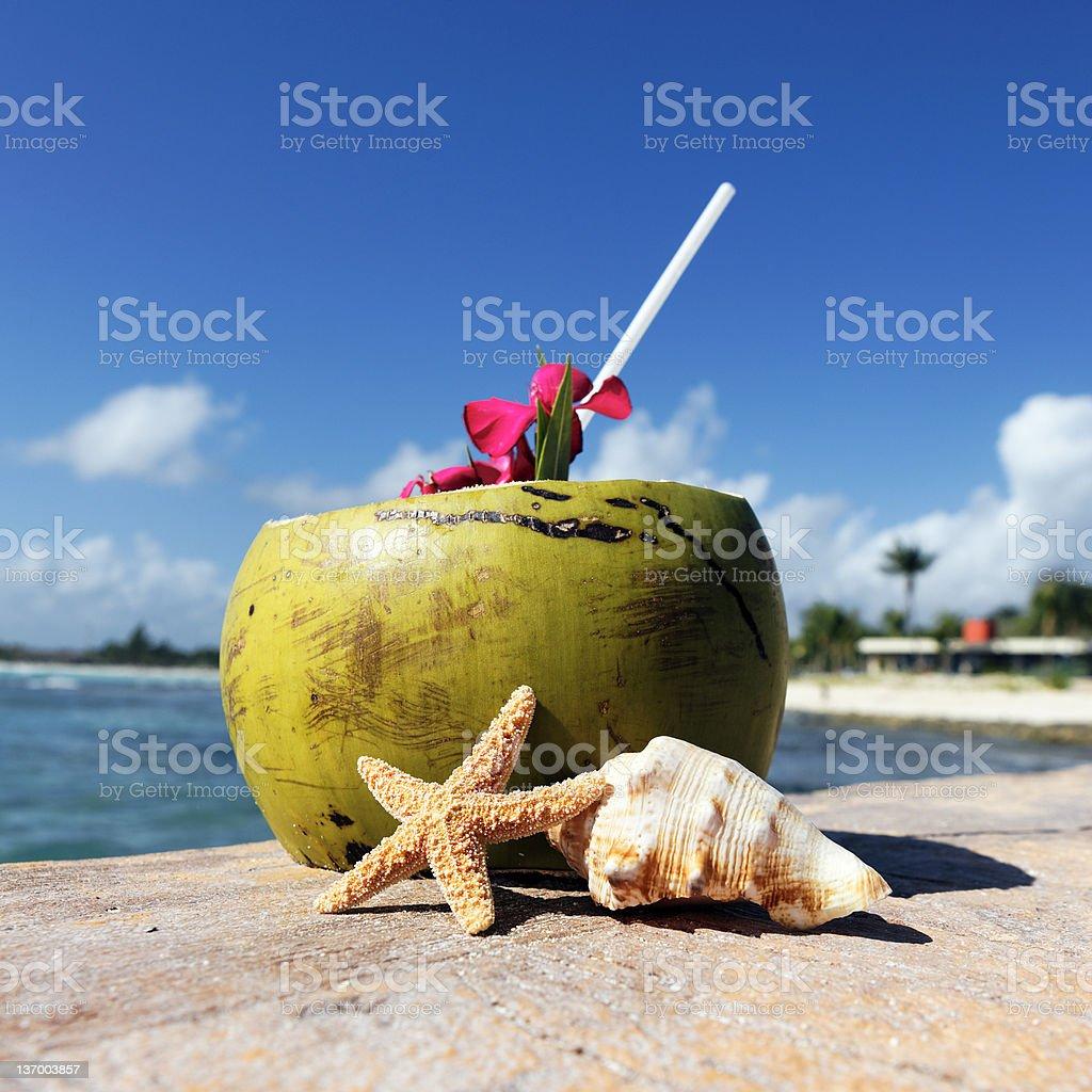 caribbean drink stock photo