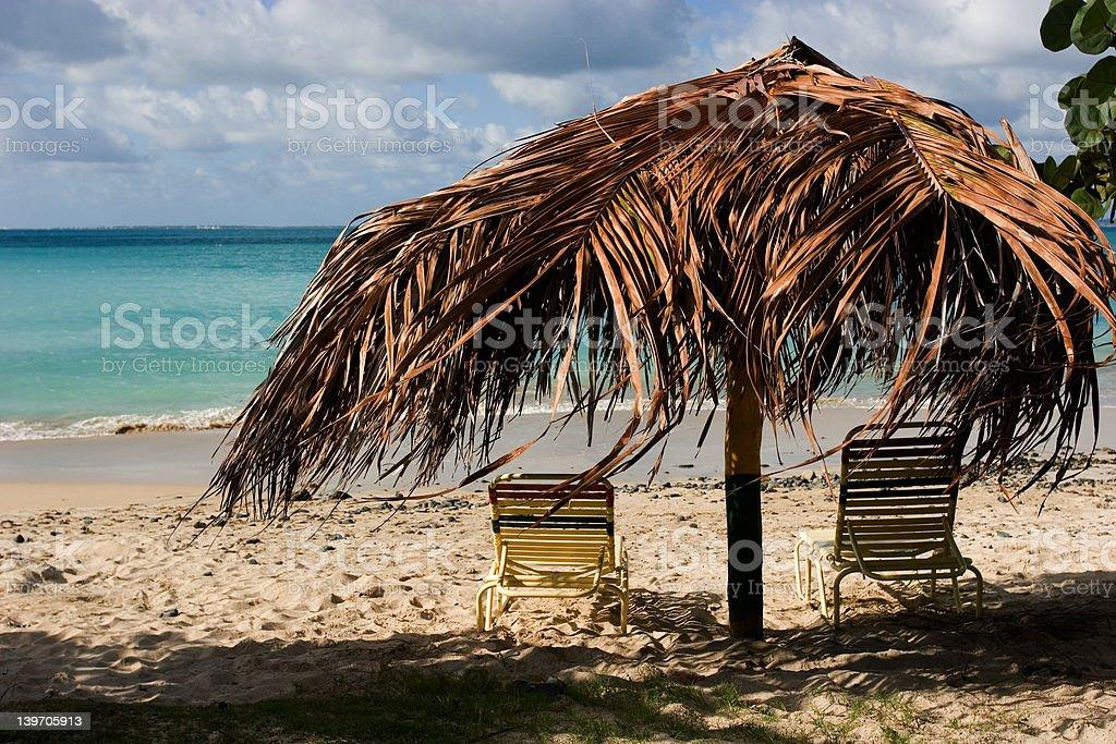 Caribbean Escape royalty-free stock photo