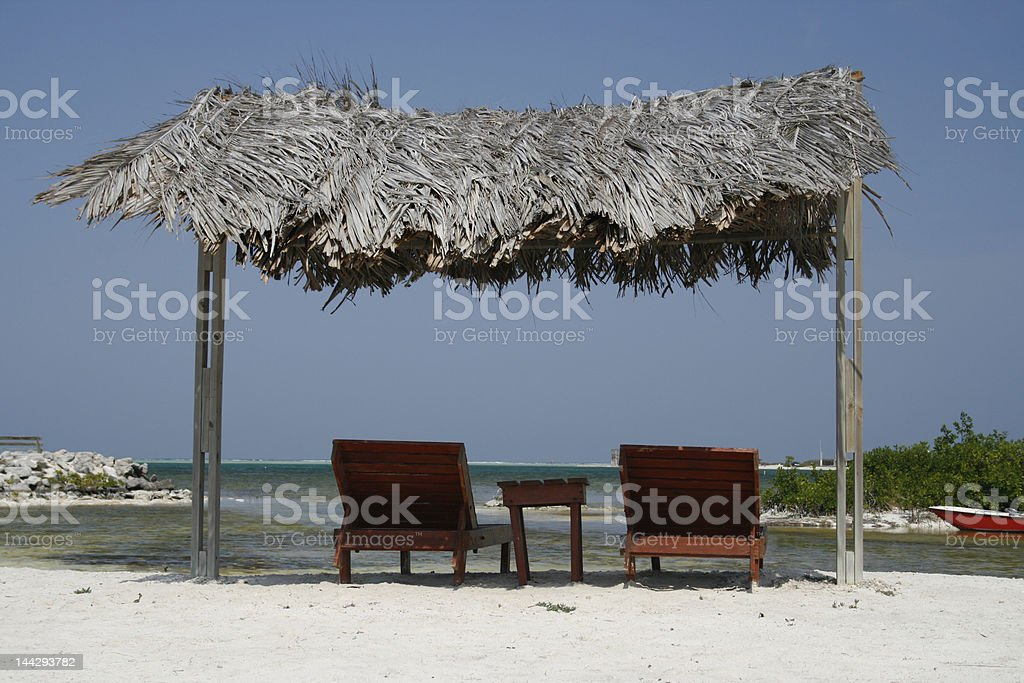Caribbean holiday stock photo