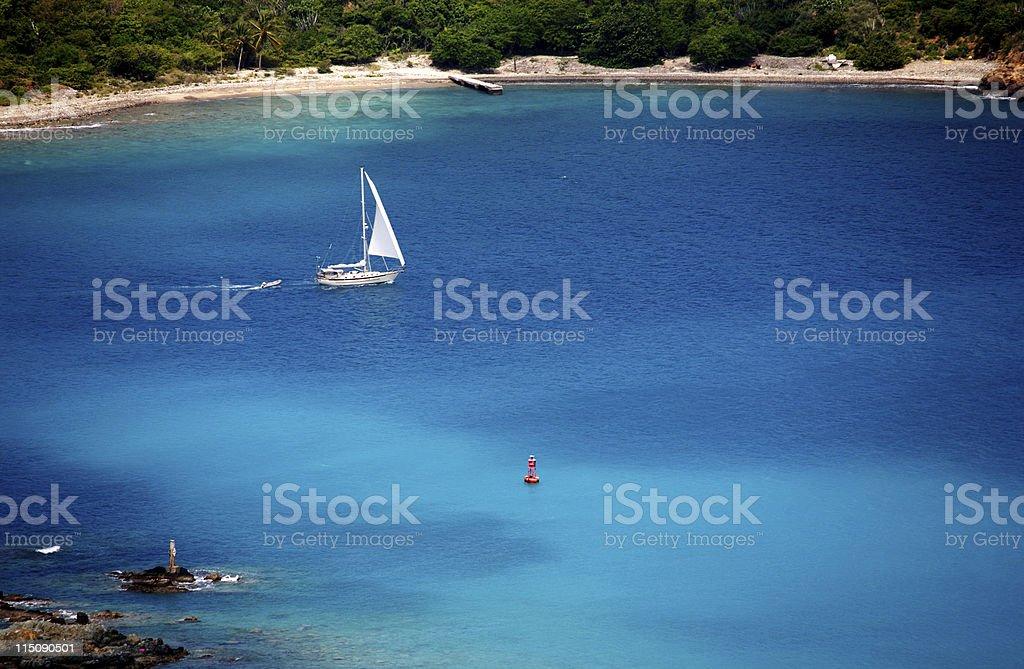 caribbean holiday portraits stock photo
