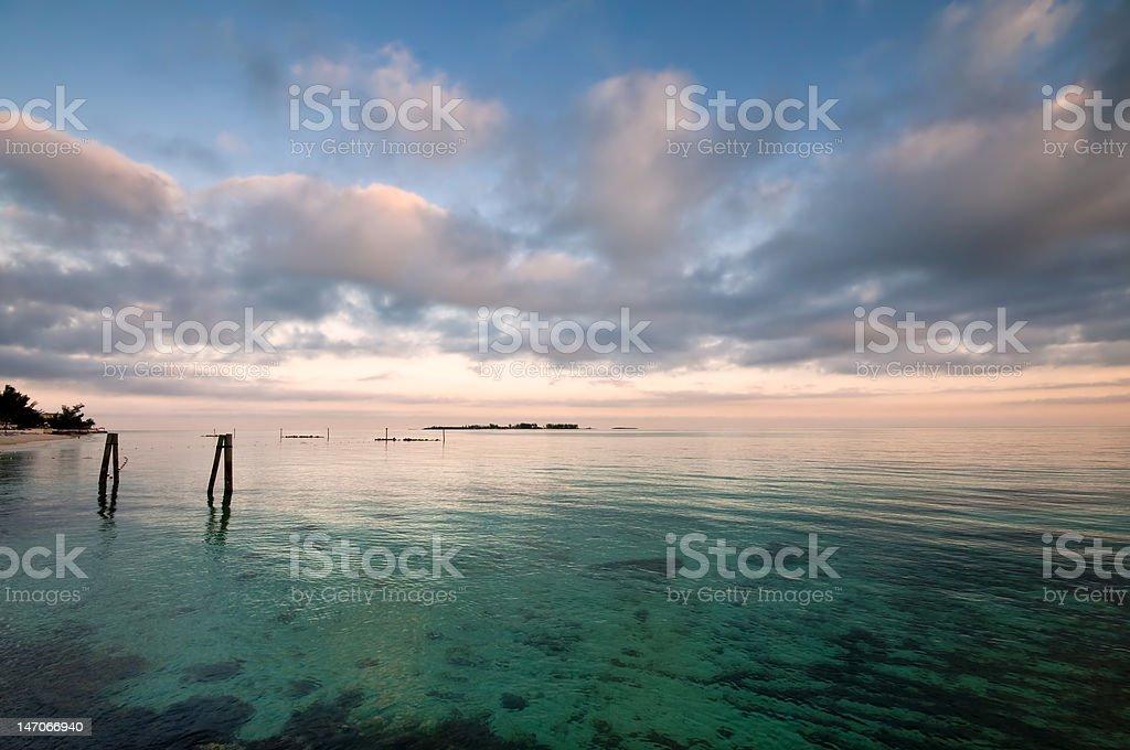Caribbean Ocean royalty-free stock photo