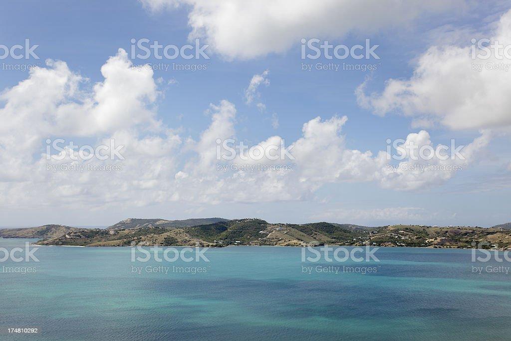 Caribbean royalty-free stock photo
