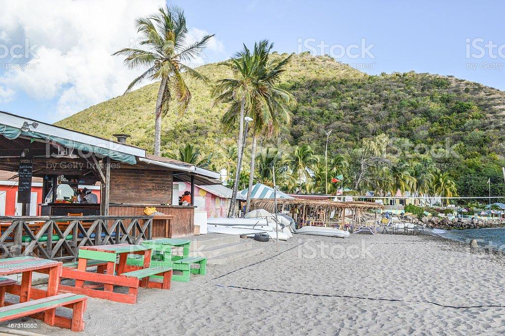 caribbean playground stock photo