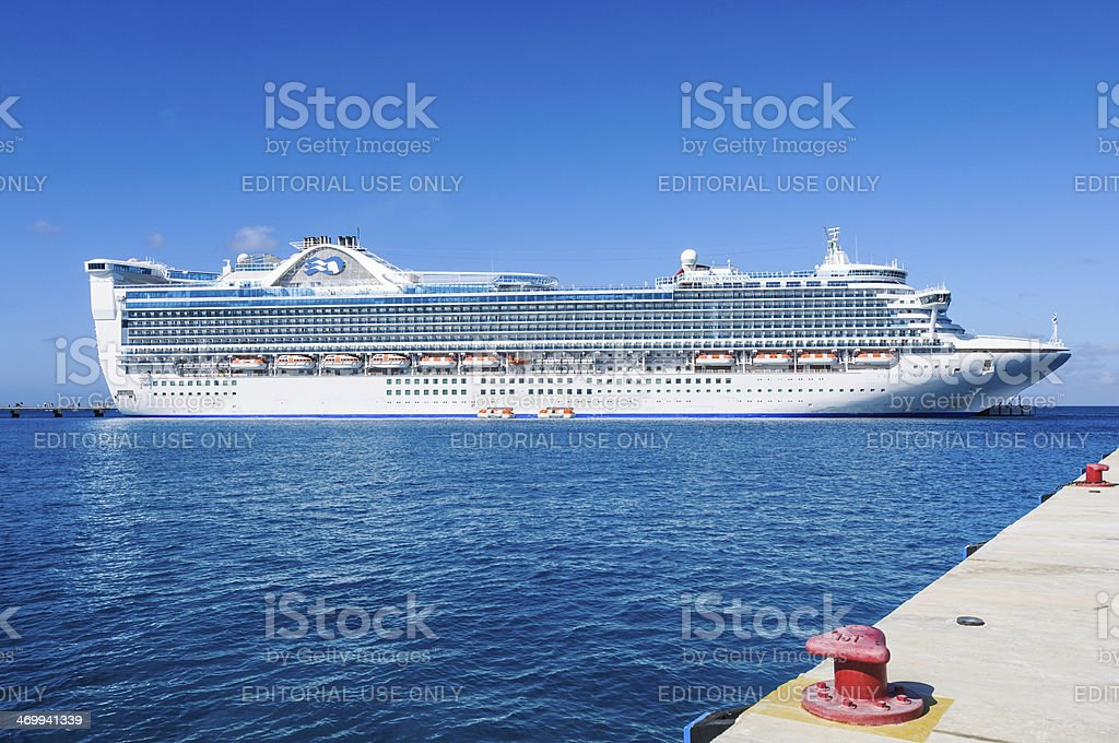 Caribbean Princess stock photo