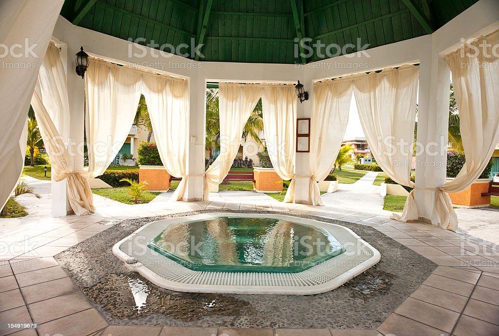 Caribbean Resort royalty-free stock photo