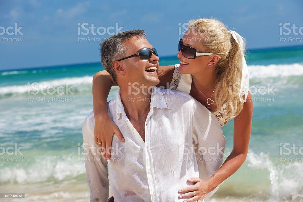 Caribbean Romance royalty-free stock photo