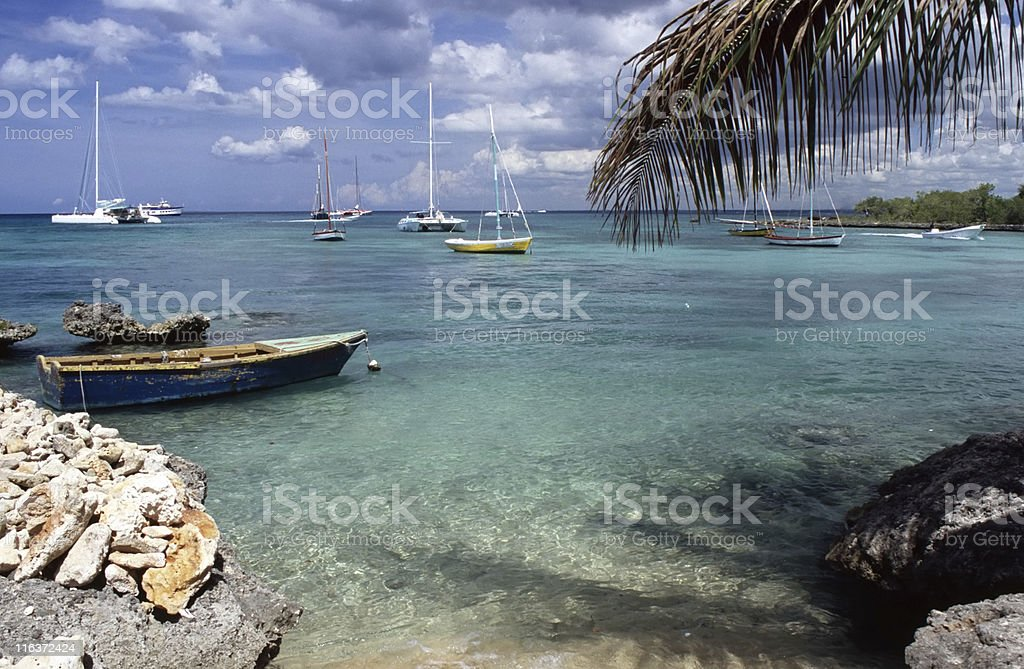 Caribbean sea royalty-free stock photo