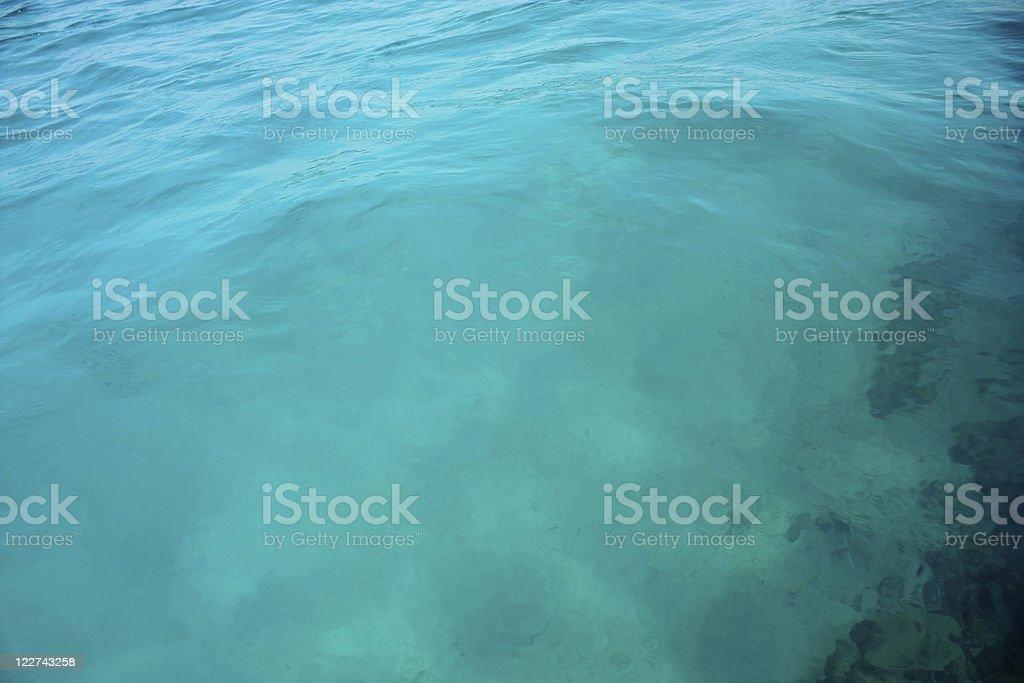 Caribbean sea royalty-free stock photo