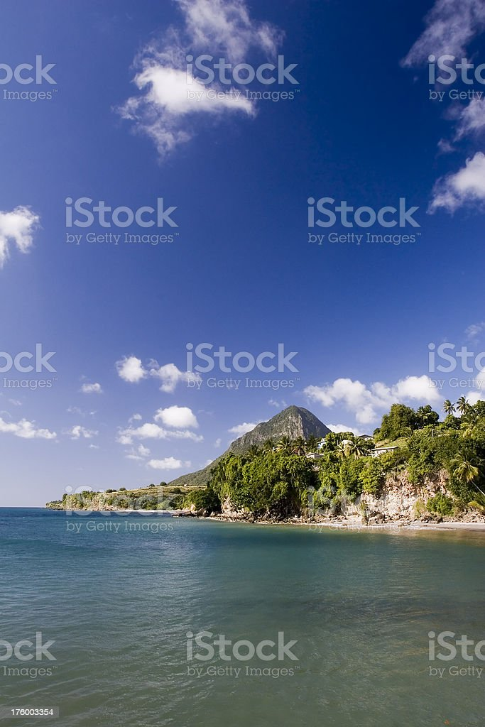 Caribbean Seaside stock photo