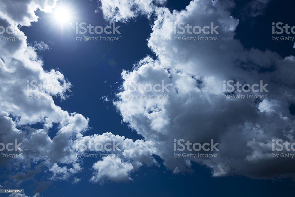 Caribbean Sky royalty-free stock photo