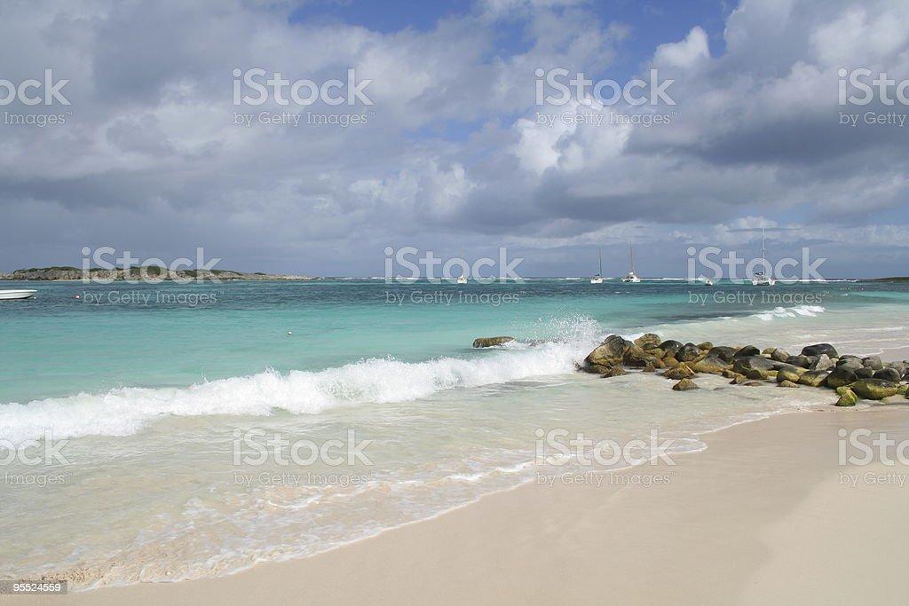 Caribbean: St. Martin stock photo