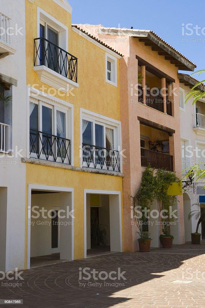 Caribbean Street royalty-free stock photo
