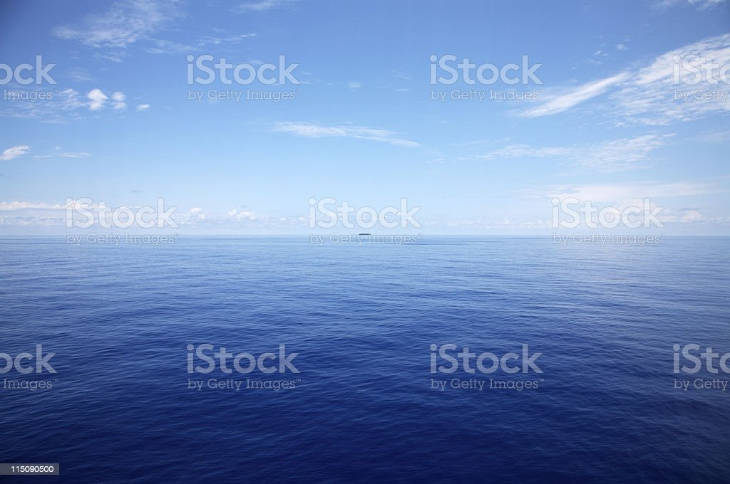caribbean waterscape stock photo