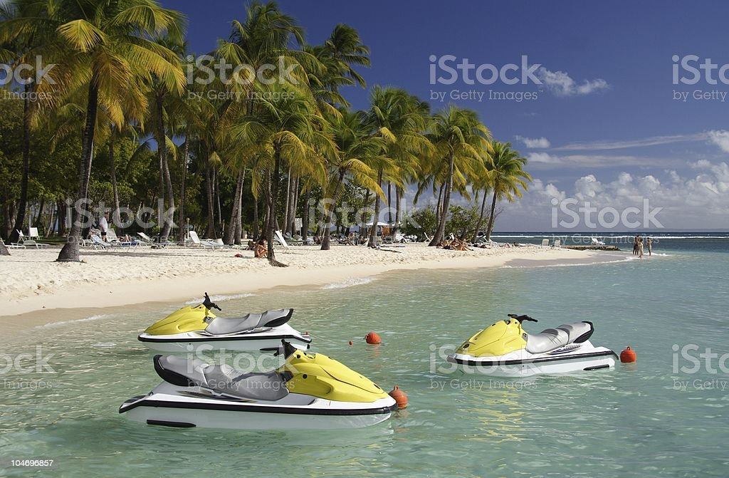 Caribbean Watersports royalty-free stock photo