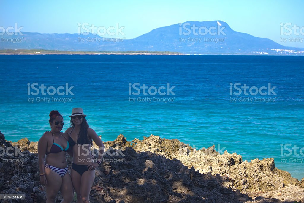 Caribbean Welcome stock photo