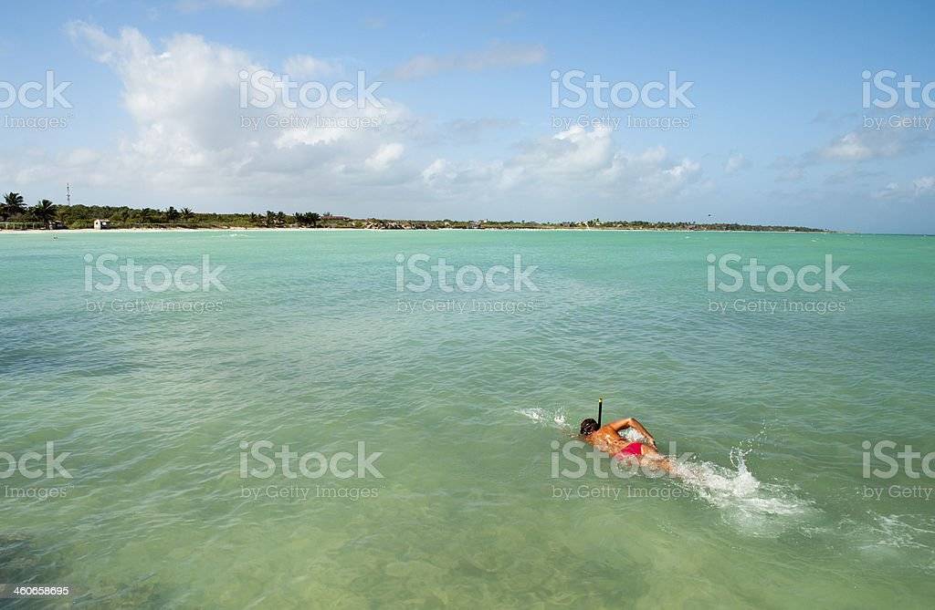 Caribean beach. royalty-free stock photo