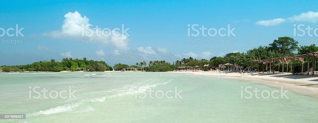Caribean beach stock photo