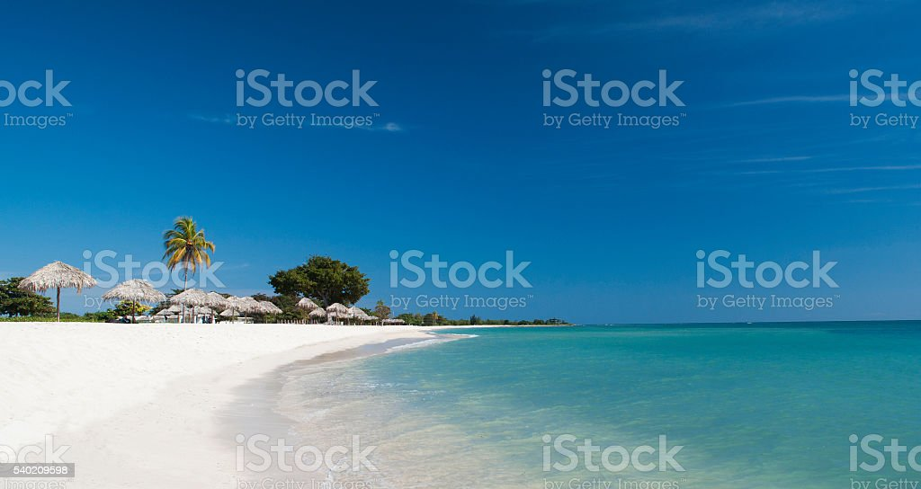 Caribean beach stock photo