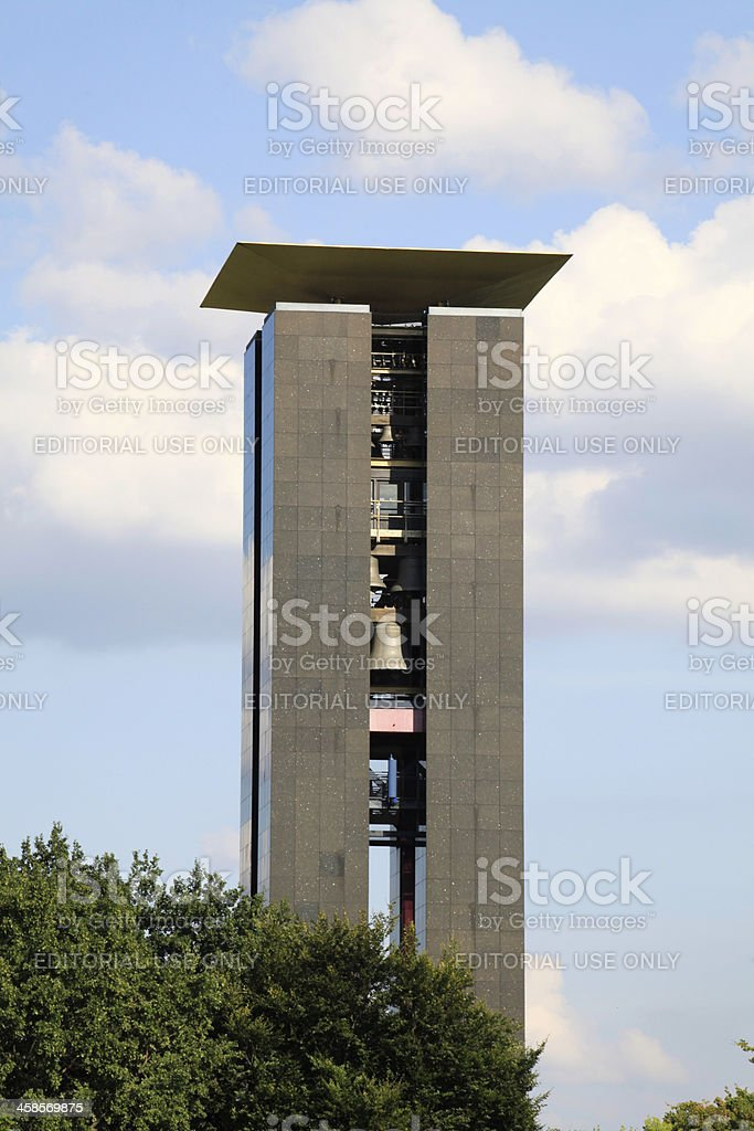 Carillon in Berlin - Tiergarten stock photo