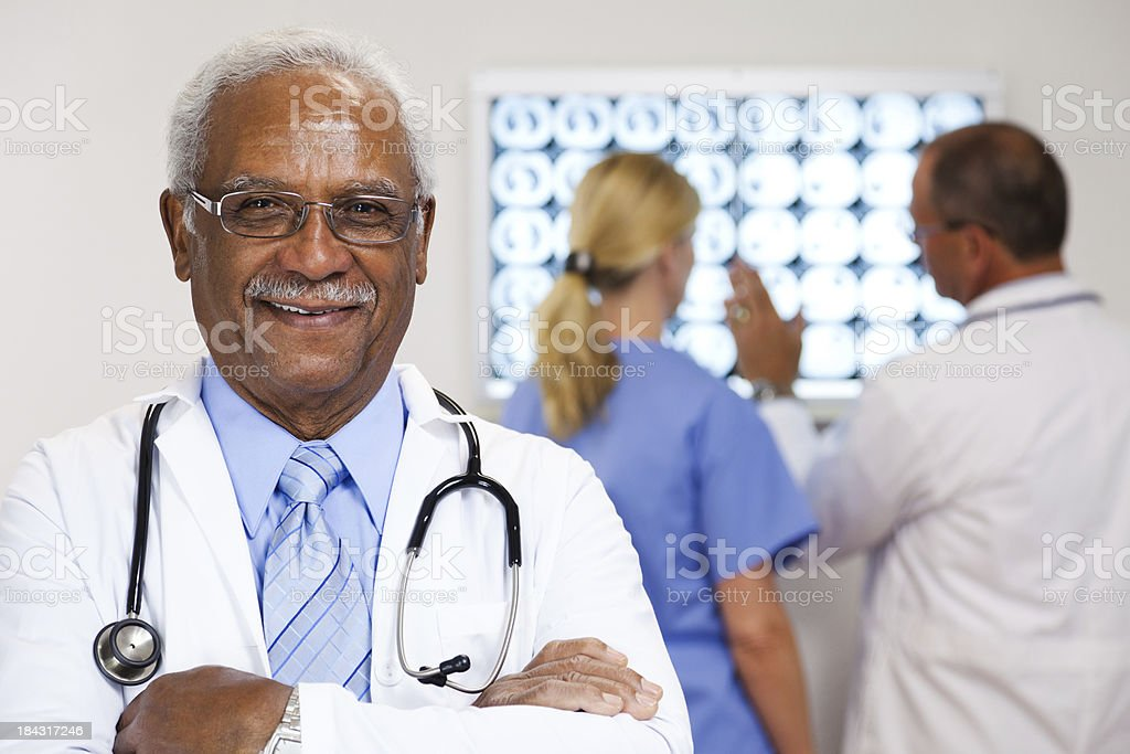 Caring Doctor royalty-free stock photo