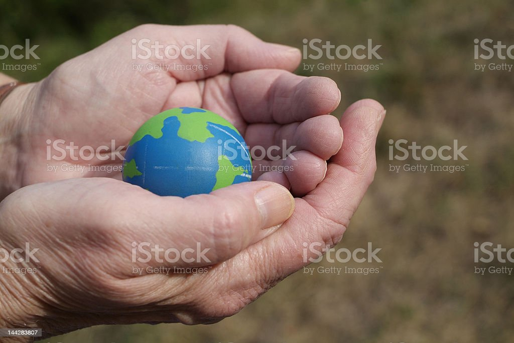 caring for the environment royalty-free stock photo