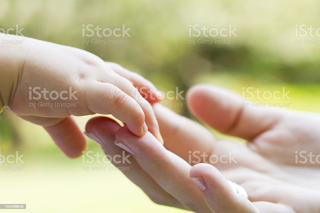 caring hands royalty-free stock photo