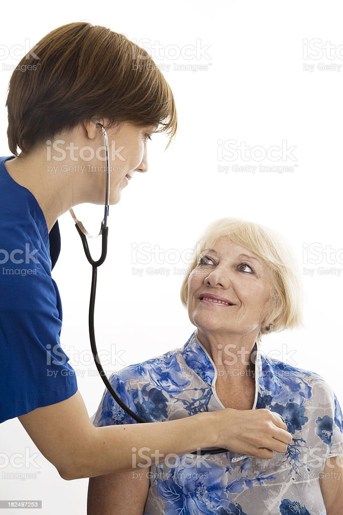 Caring Medical Doctor royalty-free stock photo