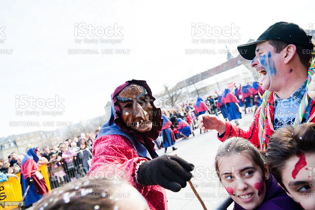 carinval in stuttgart, germany royalty-free stock photo