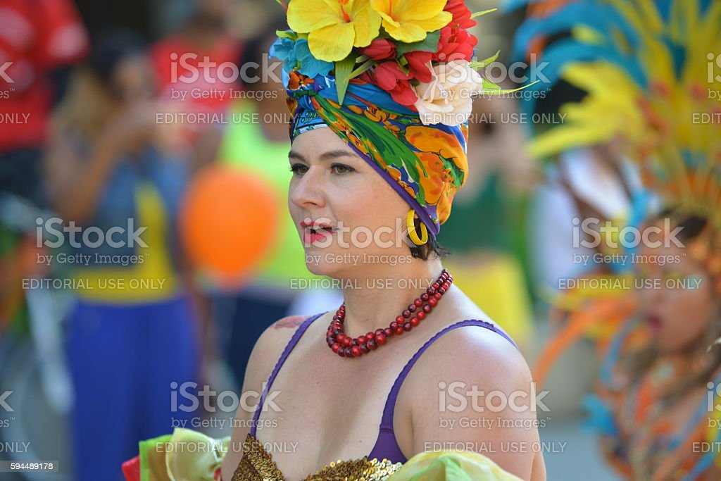 Cariwest Performer stock photo