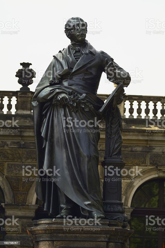 Carl Maria von Weber stock photo