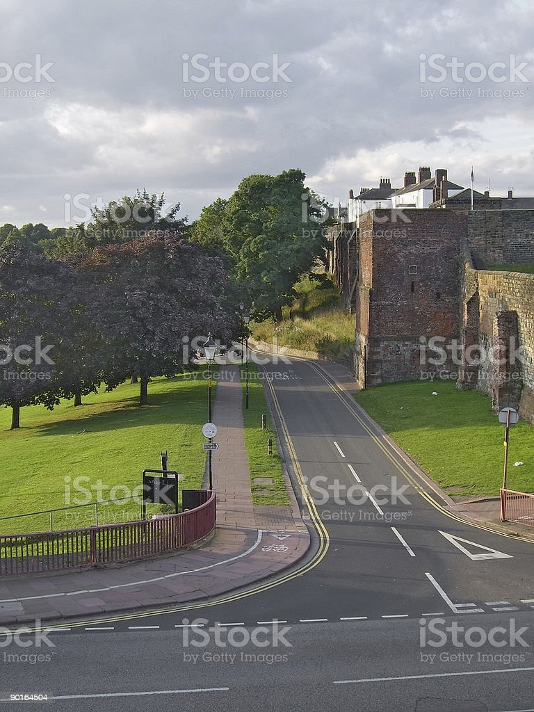 Carlisle Castle 1 stock photo