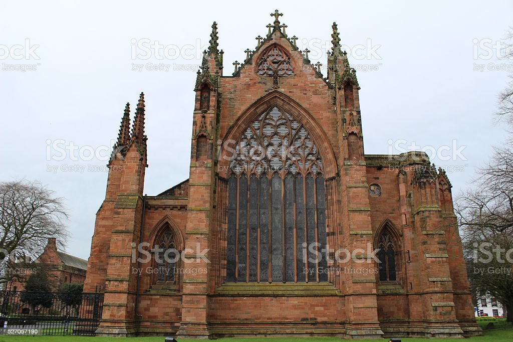 Carlisle Cathedral stock photo
