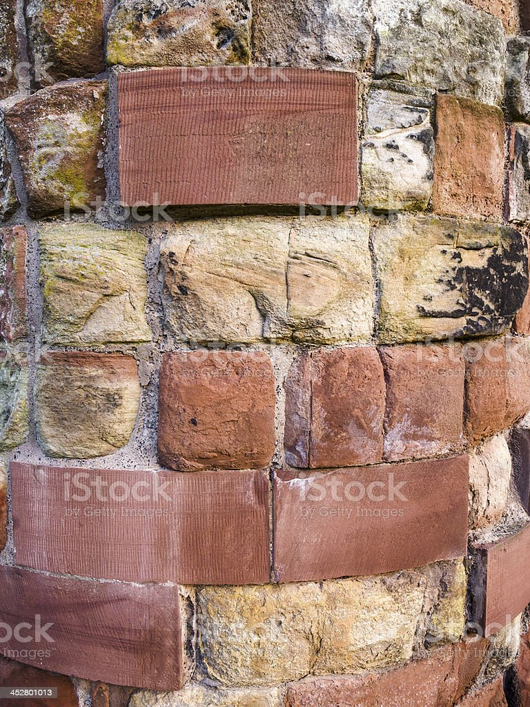 Carlisle Cathedral - red sandstone stock photo
