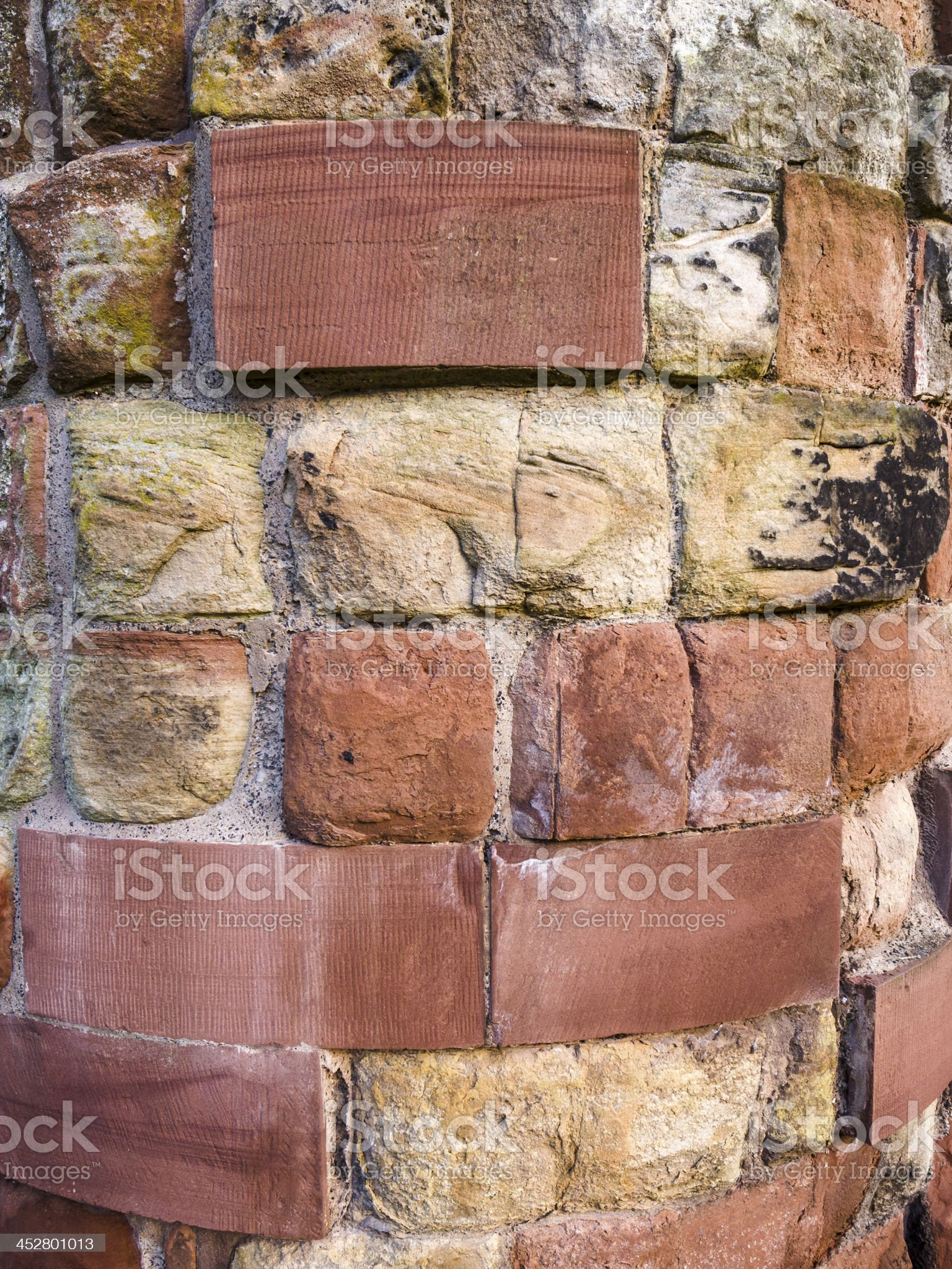 Carlisle Cathedral - red sandstone royalty-free stock photo