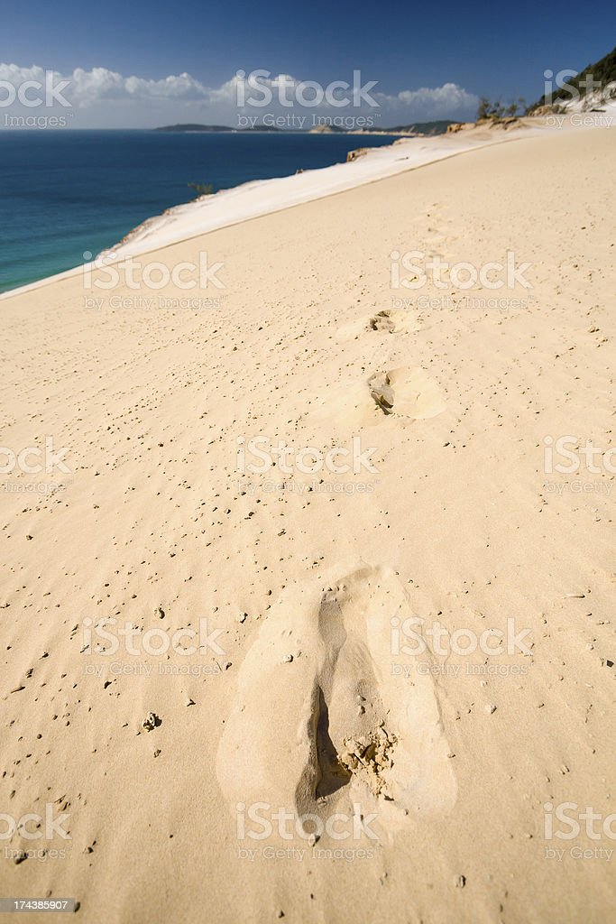 Carlo Sand Blow royalty-free stock photo