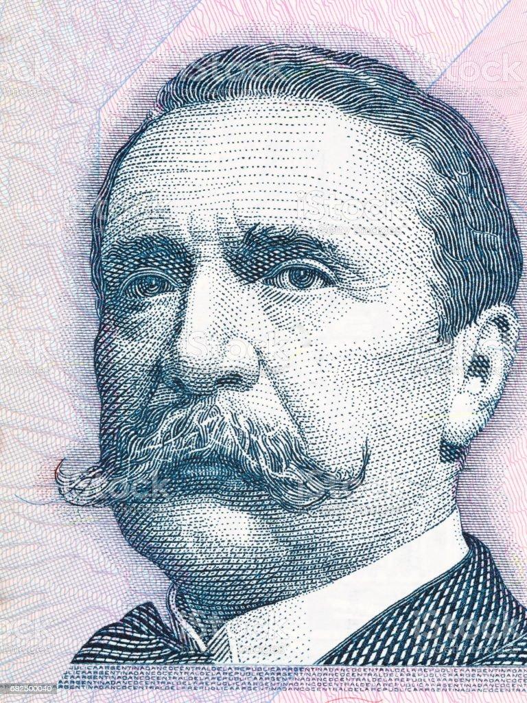 Carlos Pellegrini portrait stock photo