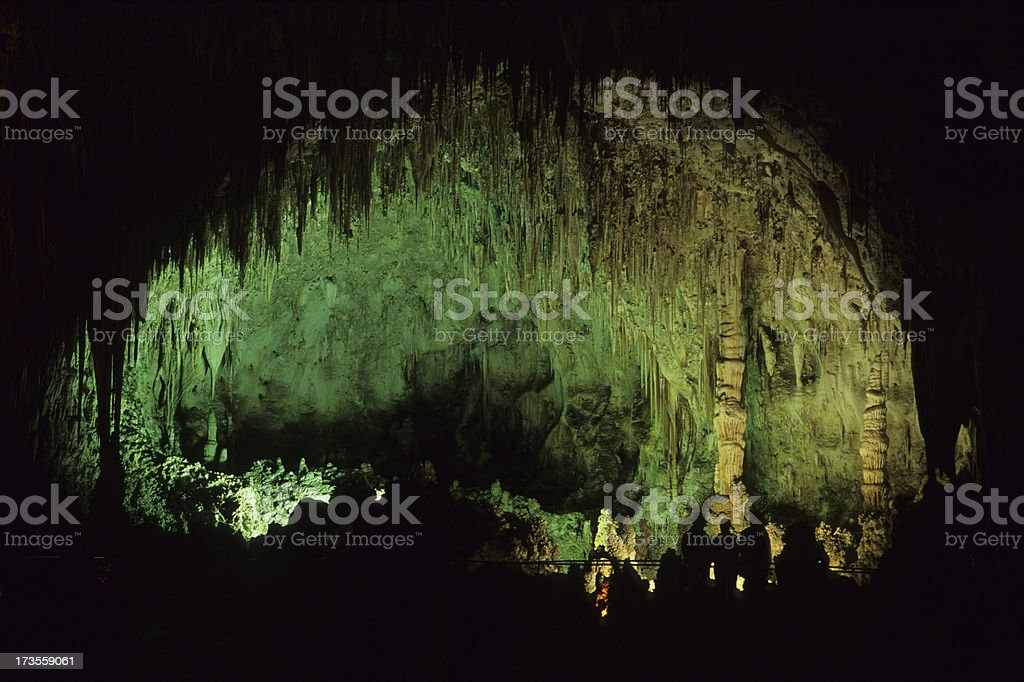 Carlsbad Caverns National Park stock photo