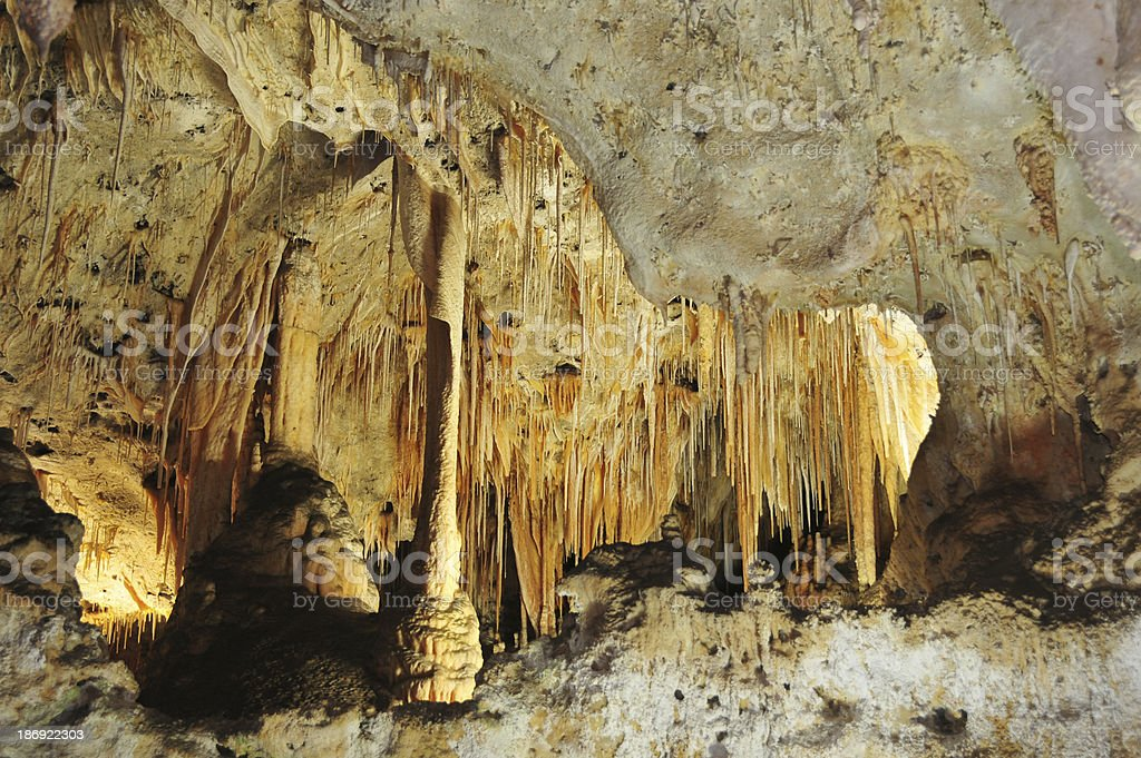 Carlsbad Caverns National Park royalty-free stock photo