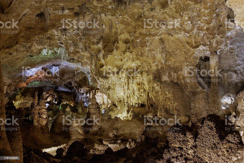 Carlsbad Caverns royalty-free stock photo