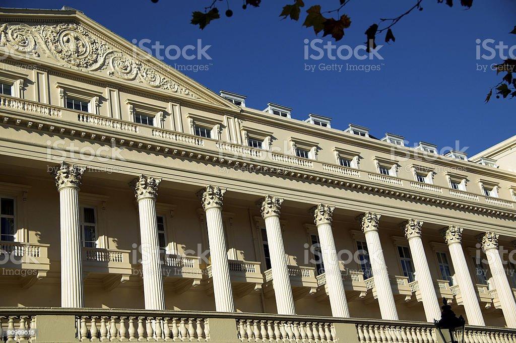 Carlton House Terrace royalty-free stock photo