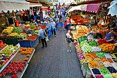 Carmel Market Shuk HaCarmel in Tel Aviv - Israel