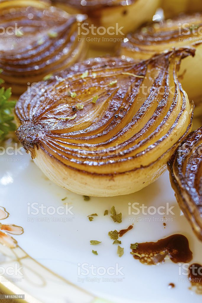 Carmelized Onions royalty-free stock photo