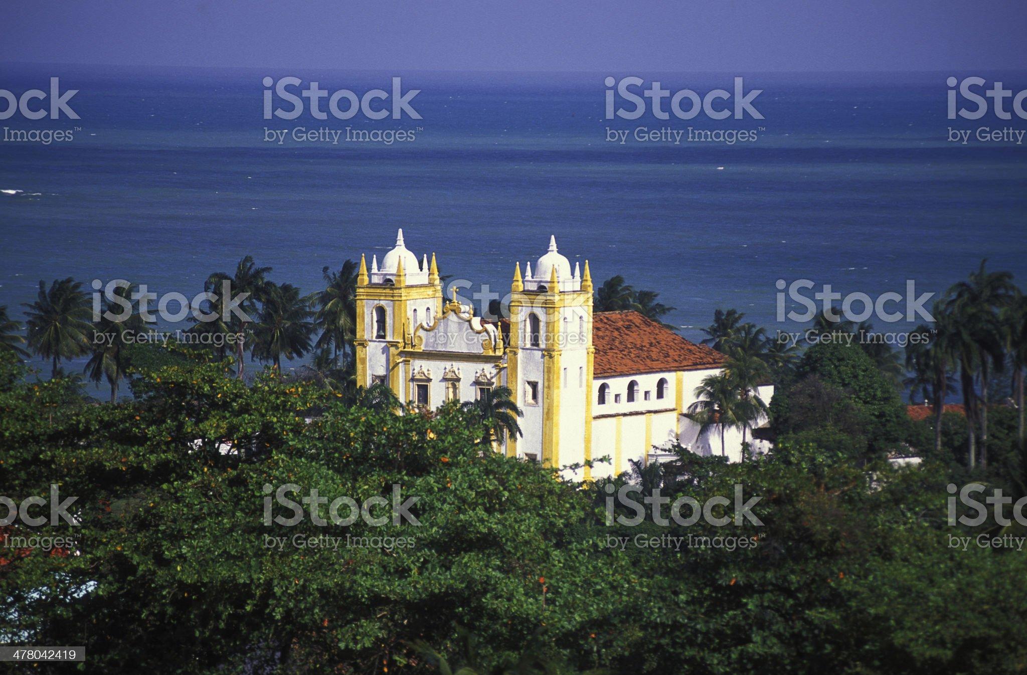 Carmelo Church royalty-free stock photo