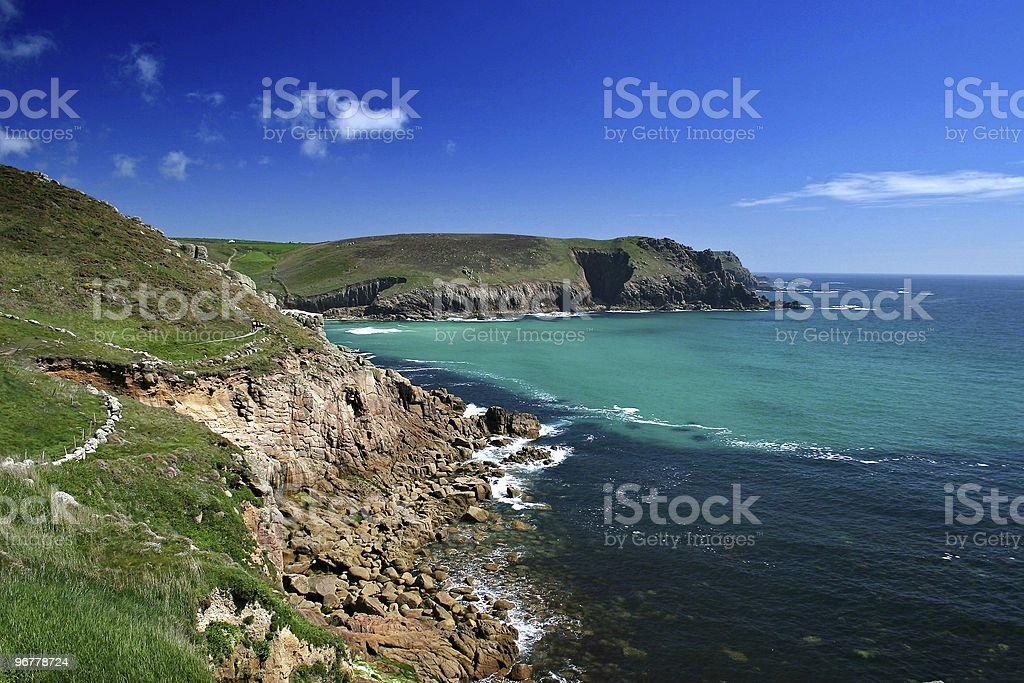 Carn Les Boel West Cornwall royalty-free stock photo