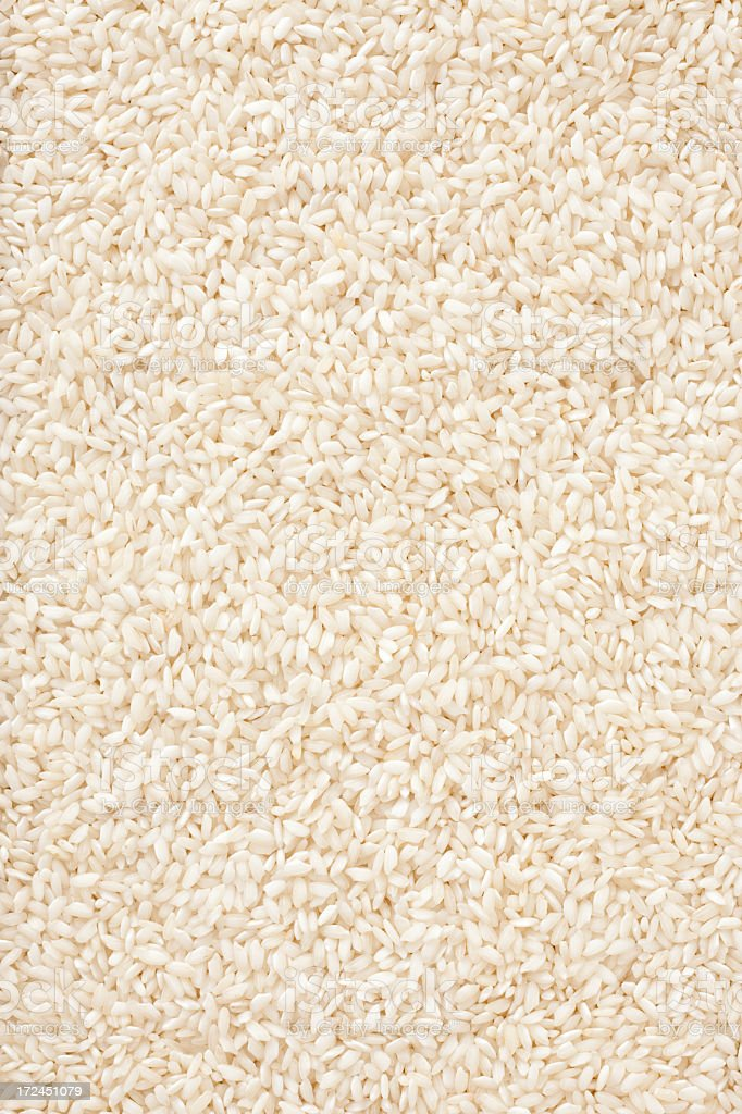 Carnaroli rice background royalty-free stock photo