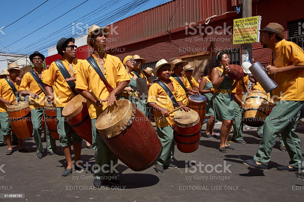 Carnaval Band stock photo
