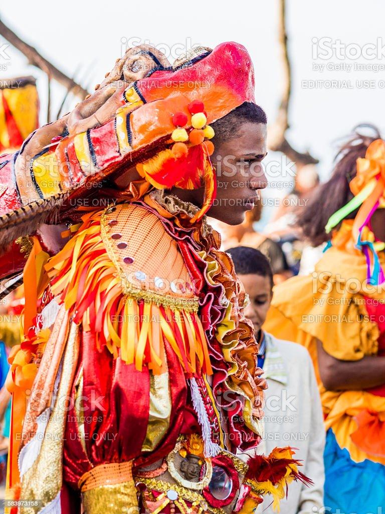 Carnaval in Sosua stock photo