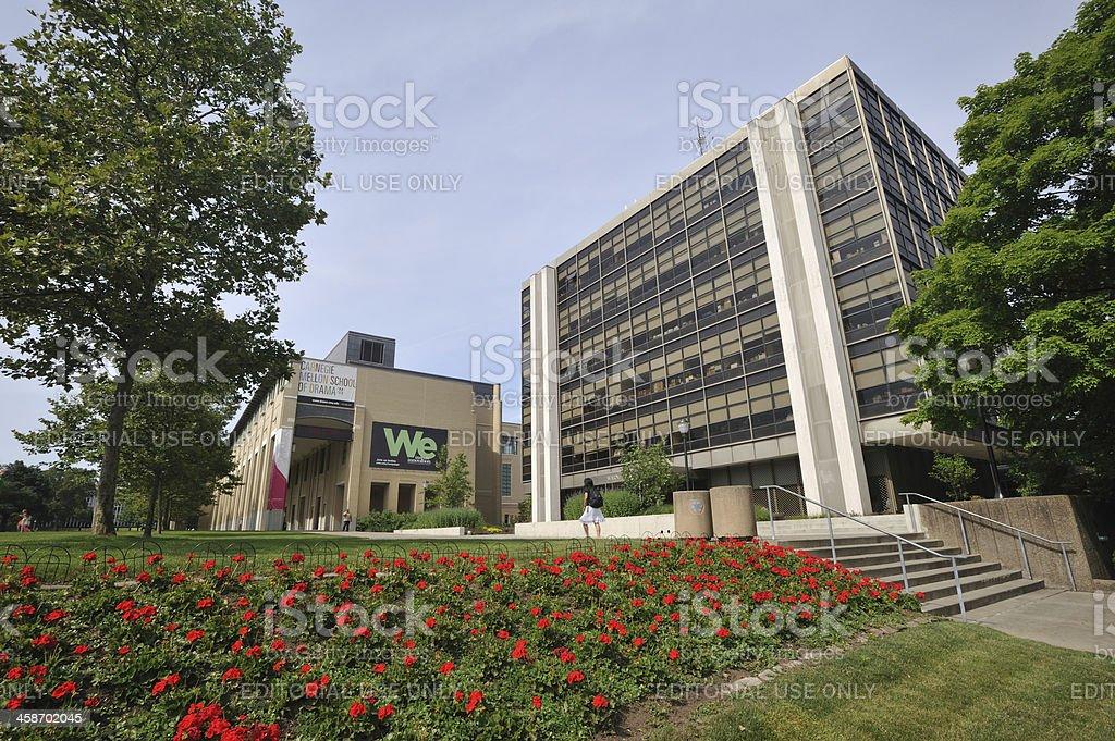 Carnegie Mellon University stock photo