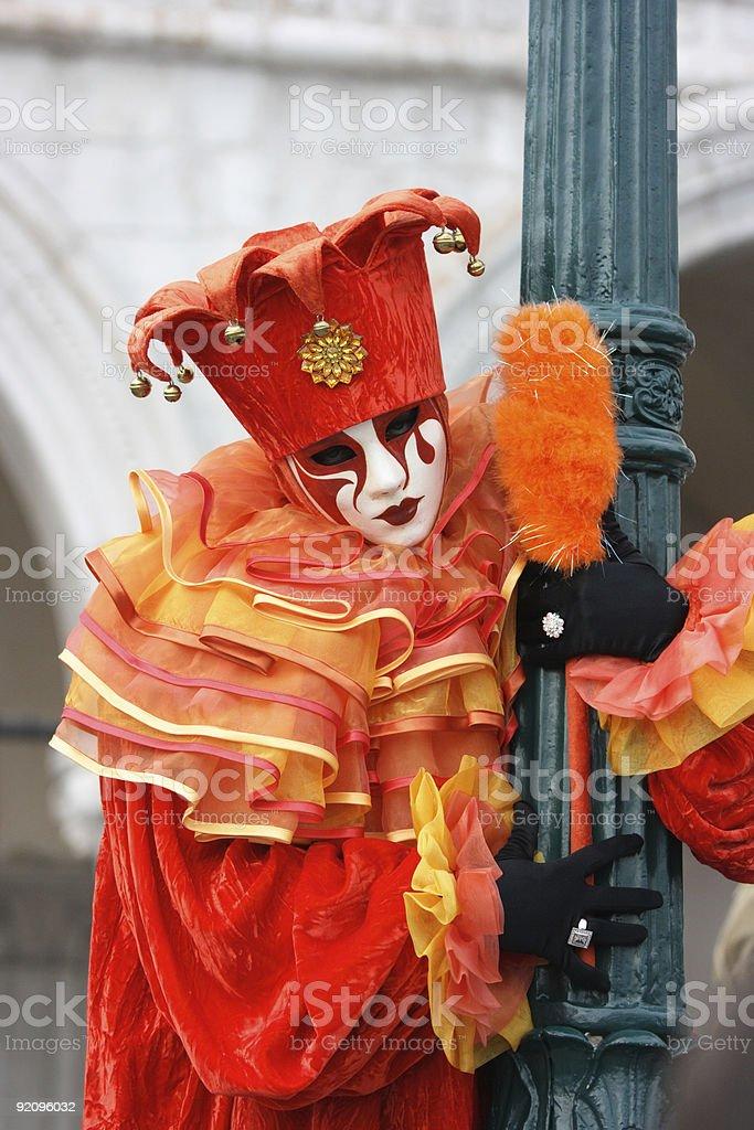 Carnevale di Venezia royalty-free stock photo
