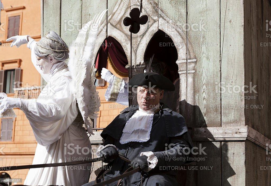 Carnevale Romano royalty-free stock photo